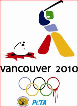 PETA olympic games Vancouver