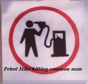 Petrol Hike Killing Common Man