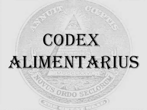 The New World Order Codex Alimentarius